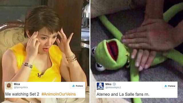 10 Tweets from the Ateneo-La Salle Volleyball Finals That Made Us LOL