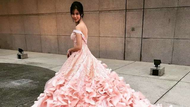 Kisses Delavin Looked Every Bit a Princess During Her Debut