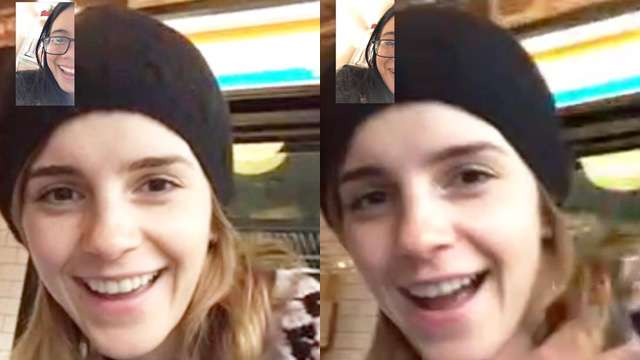 This Lucky Filipina Got Words of Encouragement from Emma Watson via Facetime