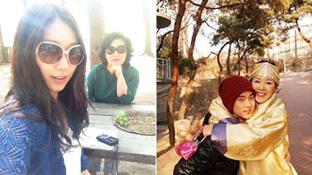 10 Korean Actors and Their Beautiful Moms