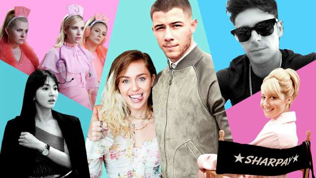 Miley Cyrus Jokes About Kissing Nick Jonas