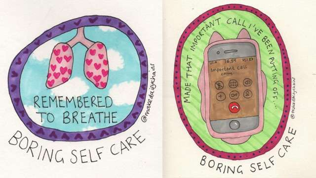 These Illustrations Show the Struggles and Victories of Mental Illness
