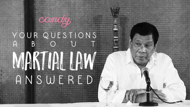 Your Questions About Martial Law Answered