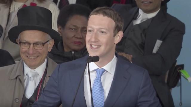 7 Best Parts of Mark Zuckerberg's Harvard Commencement Speech
