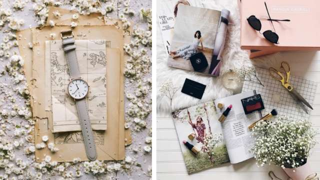 10 Flat Lay Ideas to Try on Your Next Instagram Post