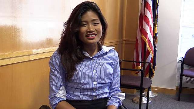 Pinay With Birth Defect Graduates From College in New York