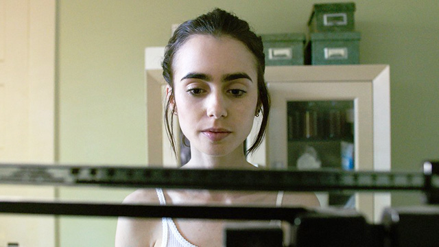 You Have to See Lily Collins Battle Anorexia in Her New Movie