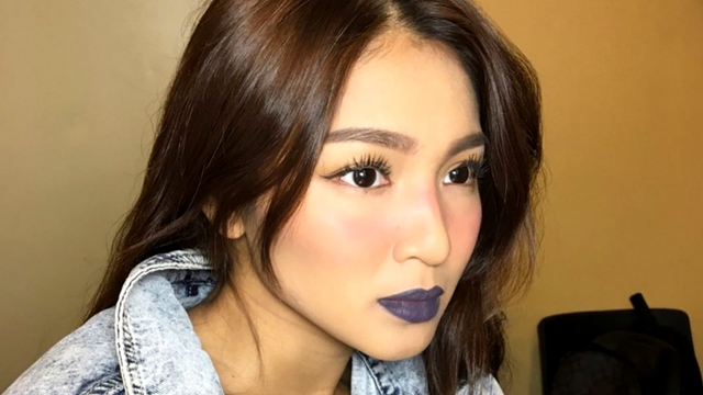 Here's How Nadine Lustre Made Blue Lipstick Look Wearable