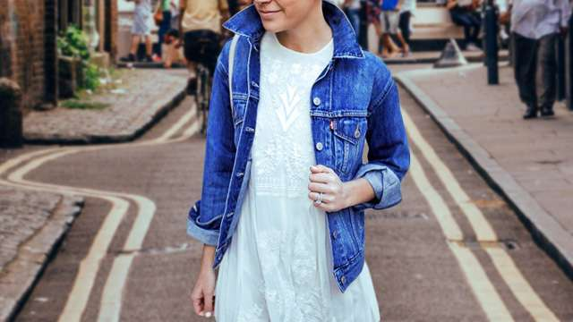 Here's How You Should Wear Your LWD During the Rainy Season