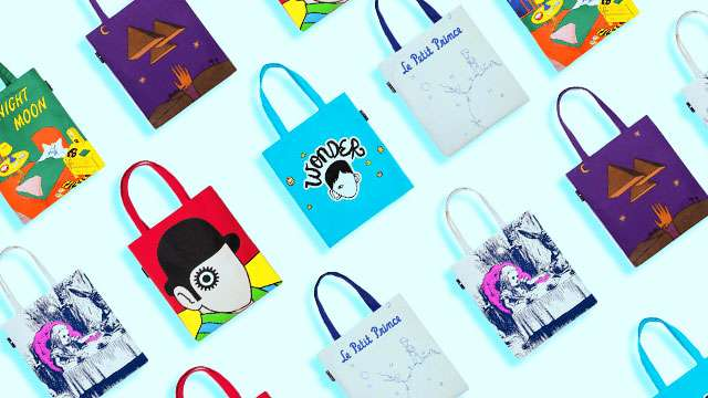 Your Favorite Books Are Now Tote Bags and They're Too Cute for Words