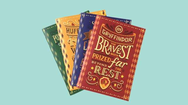 These Hogwarts Houses Notebooks Will Make You Want to Take Notes!