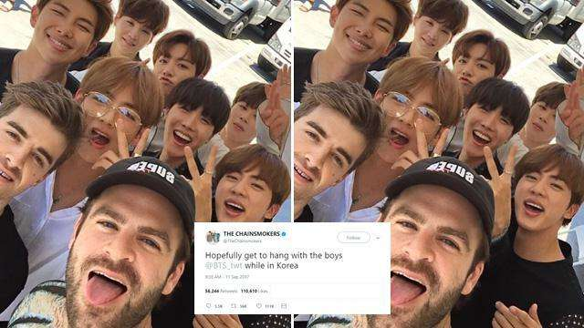 Looks Like the BTS x The Chainsmokers Collaboration Is Almost Here
