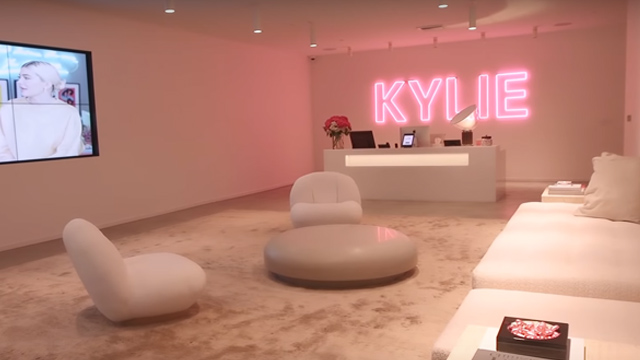 Kylie Cosmetics HQ Has A YouTube Room And Champagne Vending Machine
