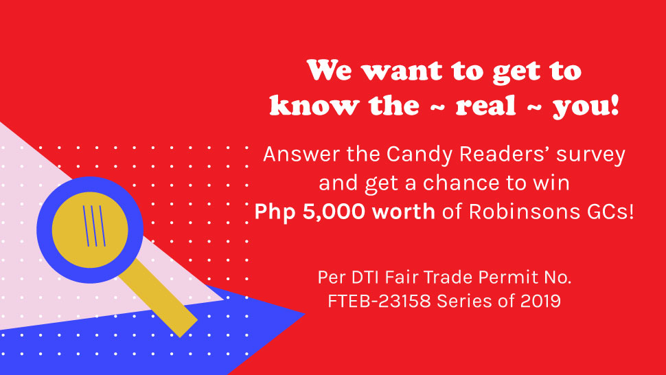 Take This Candy Survey And Get A Chance To Win P5,000 Worth of Robinsons GCs!