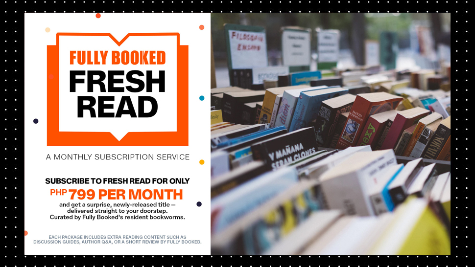 Fully Booked's Subscription Service Will Curate A Newly-Released Book For You Every Month