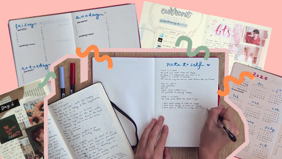 Different Types Of Journaling You Can Do Using Your Old, Unused Notebooks