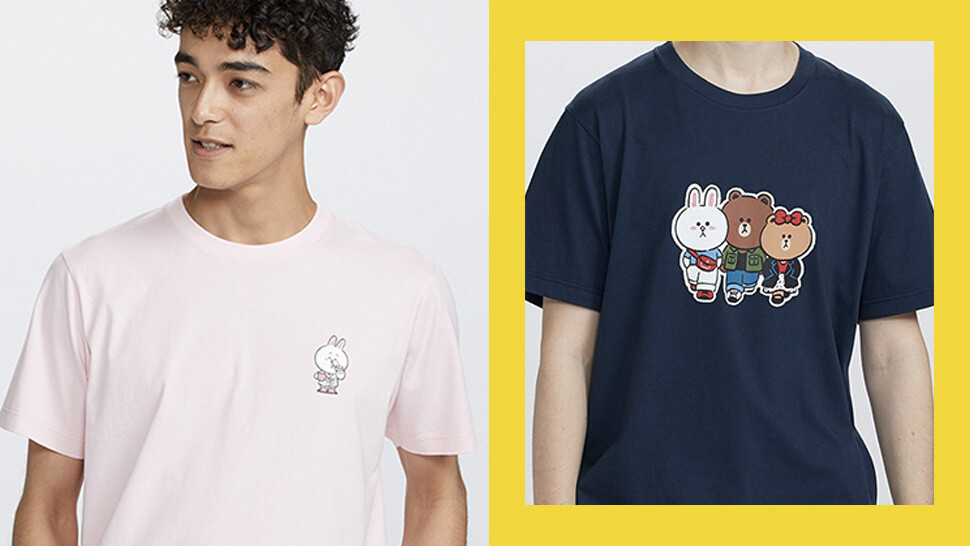 These Line Friends Tees From Uniqlo Can Only Be Found In 2 Branches