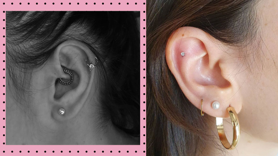 These Are The Prettiest Ear Piercing Combinations You Can Try