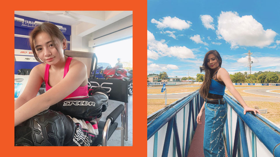 Actress Ella Cruz Pursues Dream To Race Motorcycles In Between Taping Sessions