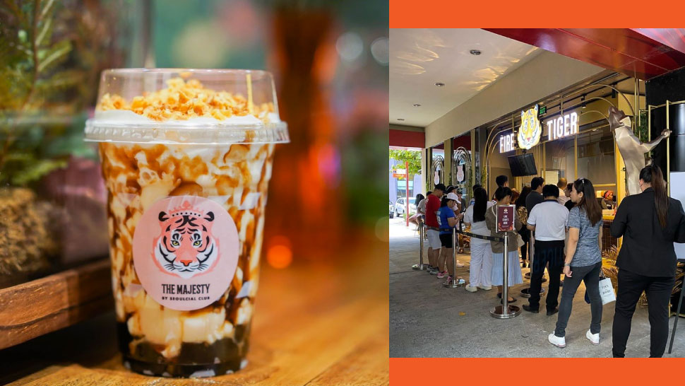 This Viral Milk Tea With Torched Creme Brulee On Top Is Now In BGC