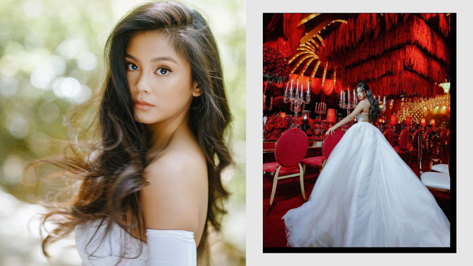 Ylona Garcia Celebrates 18th Birthday With 1950s Theater-Themed Party