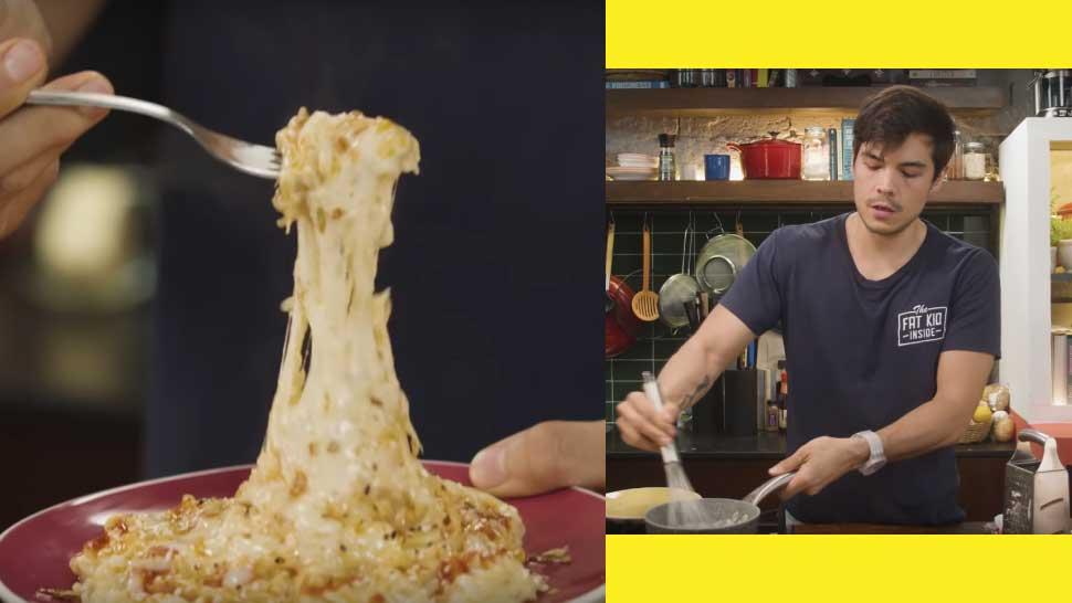 New Dad Erwan Heussaff Has the Best Recipe for Cheesy Ramen