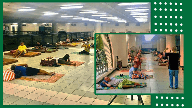 DLSU Turns Building Into Temporary Shelter For The Homeless Amid Enhanced Quarantine
