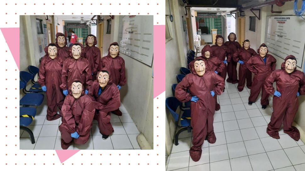 Fashion Designer From Iloilo Creates Money Heist-Inspired PPEs While In Quarantine