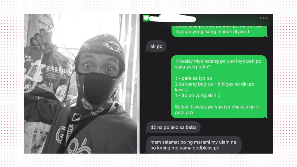 This Teacher Surprised Her GrabFood Rider With Free Food