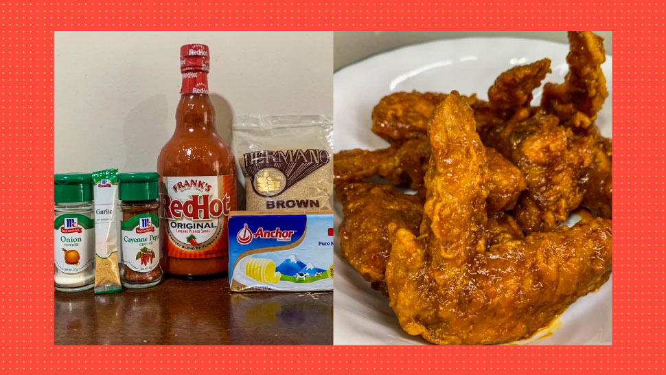 Wings, Please! FB User Shows Us How To Make Flavored Chicken Wings At Home