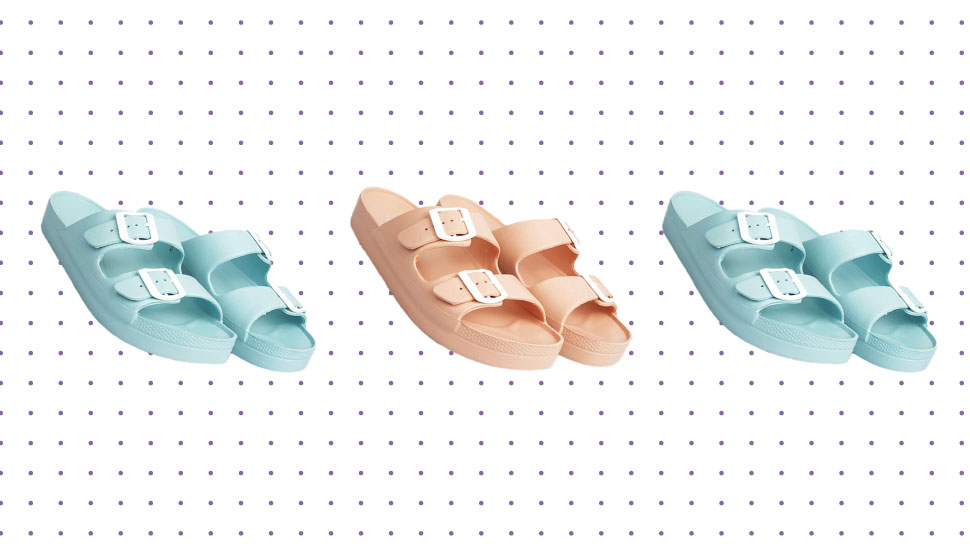 These Chunky Pastel Sandals Are Only P329 Each!