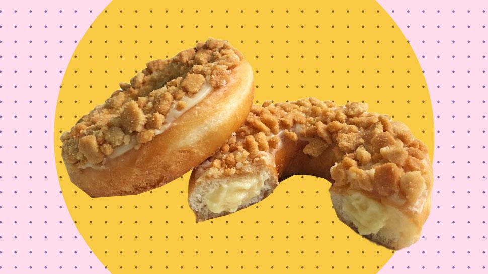 Krispy Kreme's New Doughnut Is Perfect If You Love Cheesecake