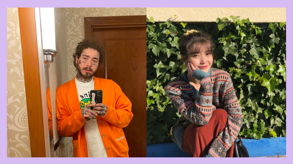 This Super Cute Sibling Story Led IU To Follow Back Post Malone On IG