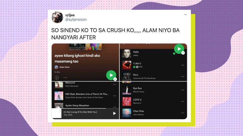 Pinay Confessed Her Feelings Through A Playlist, And Her Crush Replied