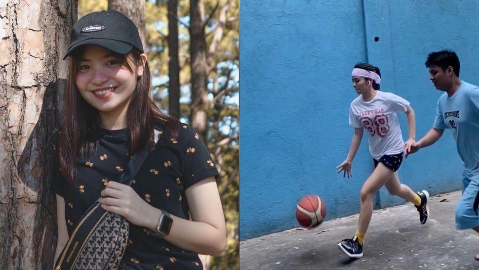 WATCH: Sharlene San Pedro Flaunts Her Basketball Skills