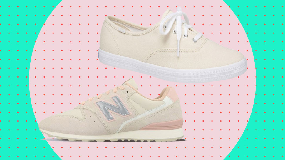 7 Neutral Beige Sneakers You Can Try If You're Not A Fan Of White