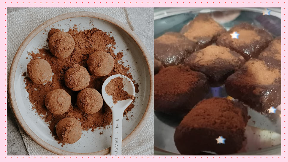 YouTuber's Recipe For Truffles Only Uses Condensed Milk And Milo
