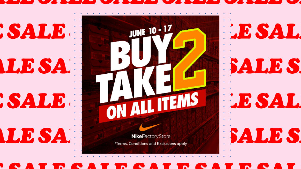 Sneakerheads, This Intense Nike Factory Store Sale Starts Today, June 10