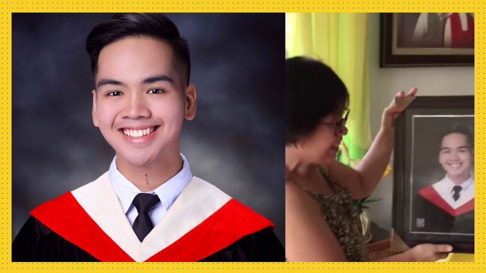 UST Accountancy Student Graduates Cum Laude, Surprises Parents With News