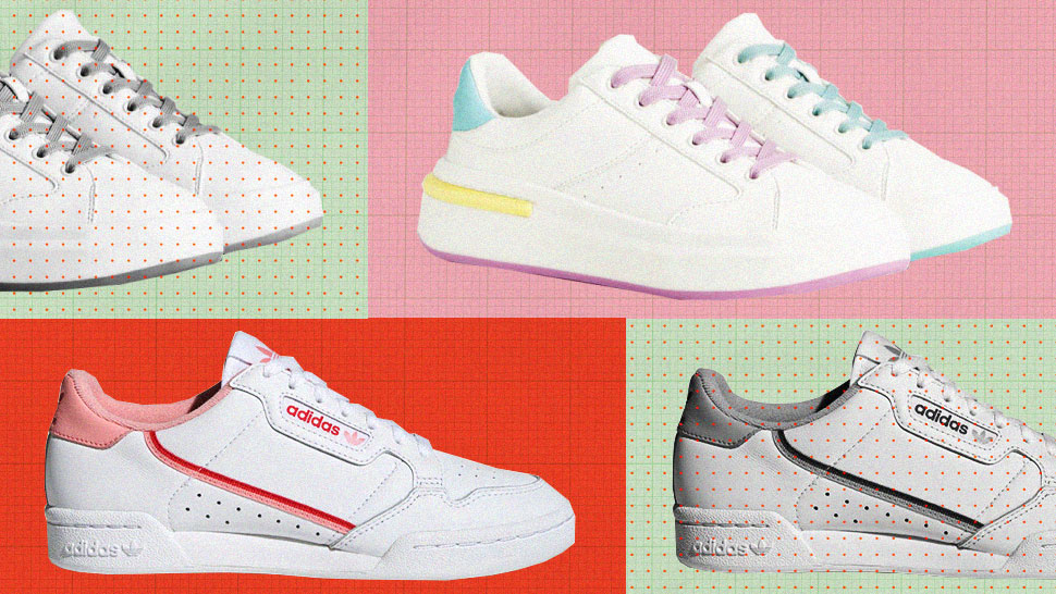 White Sneakers With ~Subtle~ Accents To Add To Your Shoe Collection