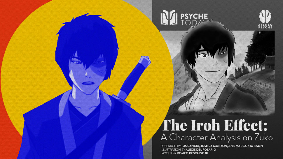College Org Made An In-Depth Analysis Of Zuko In 'Avatar' Using Psych Theories