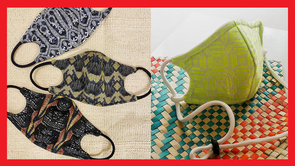 10 Functional Face Masks Using Textile From Our Local Weavers