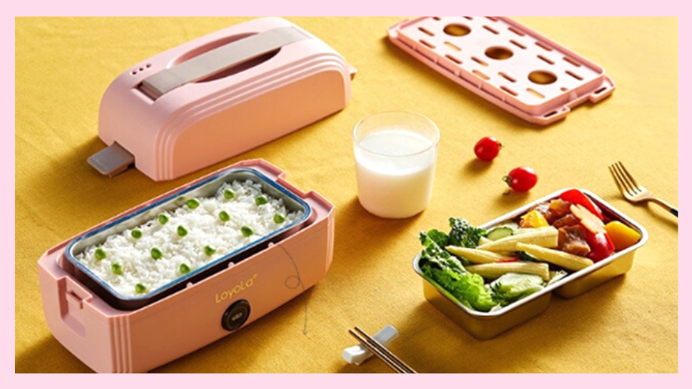 Say Goodbye To Cold Baon: This Cute Pink Lunch Box Is Also A Steamer