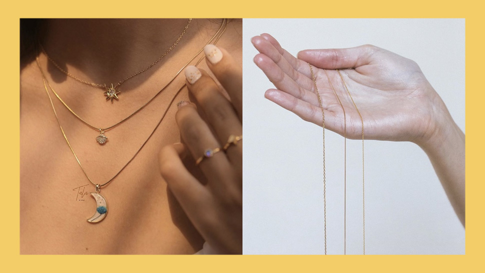 6 Local Online Stores That Sell Minimalist Necklaces For Layering