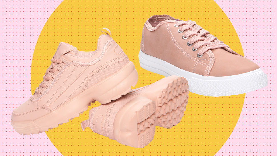 These Pretty Aesthetic Pink Sneakers Are All Under P1,000