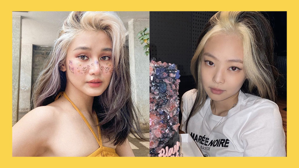 Chie Filomeno And Blackpink's Jennie Have Similar Blonde Streaks And We're Here For It