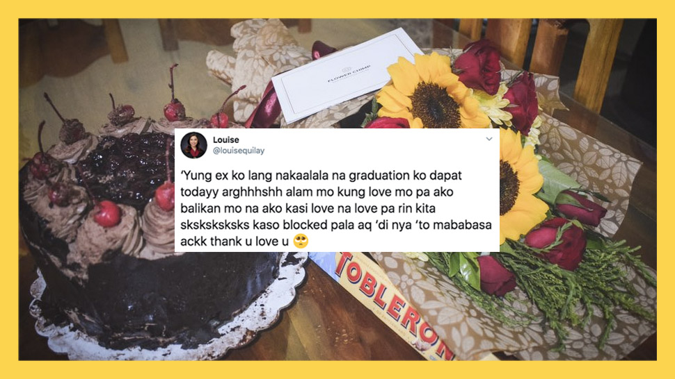 This Fresh Grad Received A ~Thoughtful~ Graduation Gift From... Her Ex!