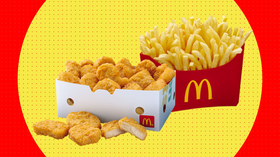 McDonald's Now Offers 'Group Selections'-Including 80-pc Chicken McNuggets