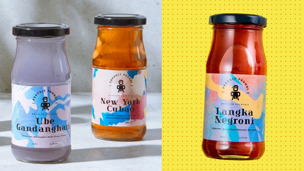 These Bottled Cocktails Are Infused With Local Flavors Like Ube, Langka, Banana, And Pineapple