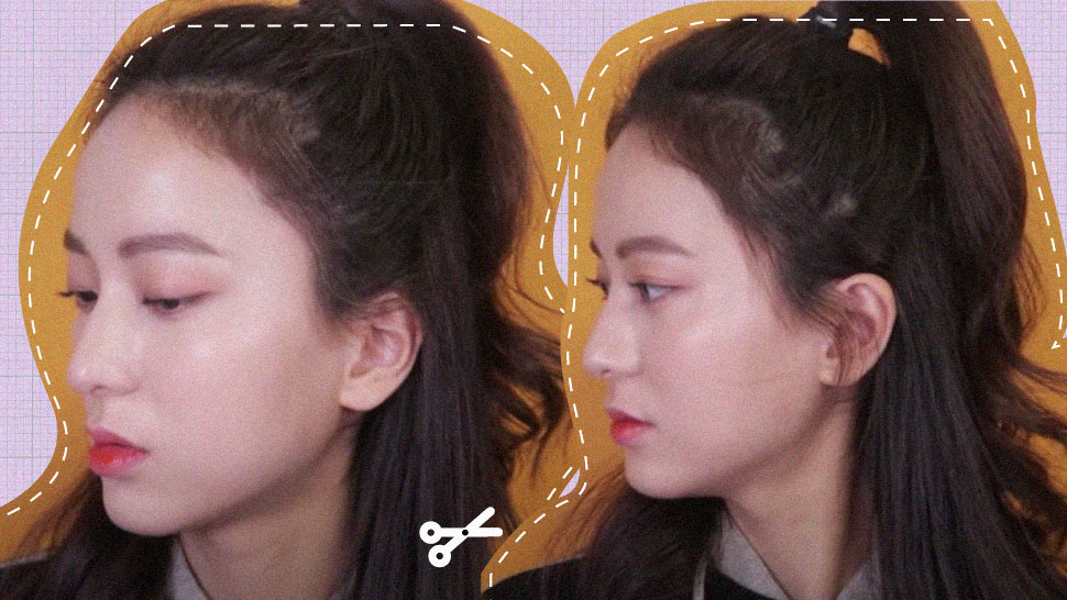 This Simple Haircut Can Make Your Forehead Look Smaller